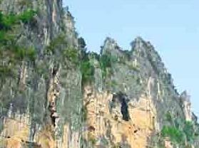 龙州花山岩