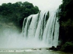 滴水滩瀑布