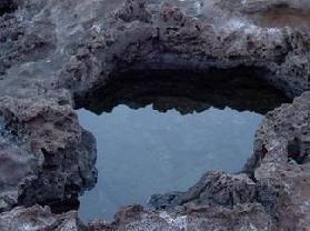 石山火山口