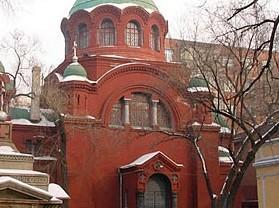 哈尔滨东正教堂