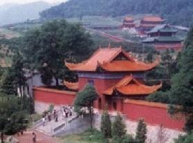 千年古刹夹山寺