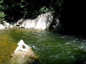 嘉陵江景区之二:嘉陵江第一瀑