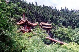 阆中锦屏山风景区