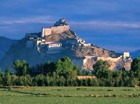 江孜城堡抗英遗址