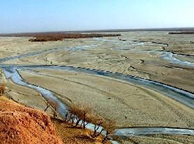 阿克苏拜城县-卡普斯浪河石脚印