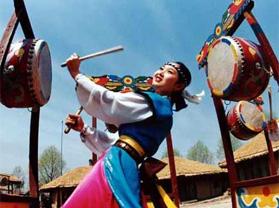 长白县长白朝鲜族民俗村