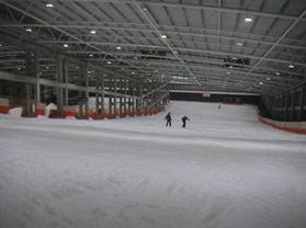乔波室内滑雪馆