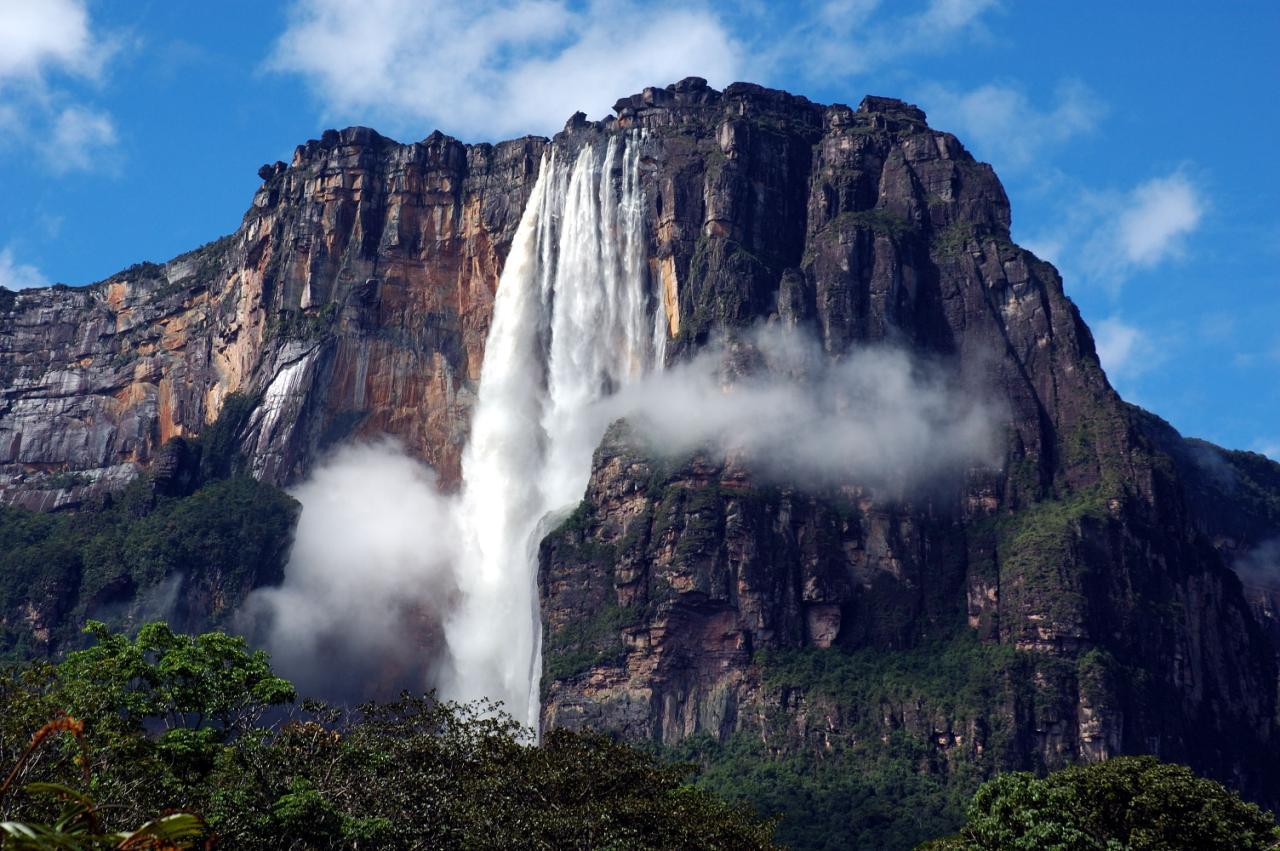 安赫尔瀑布(Angel Falls)