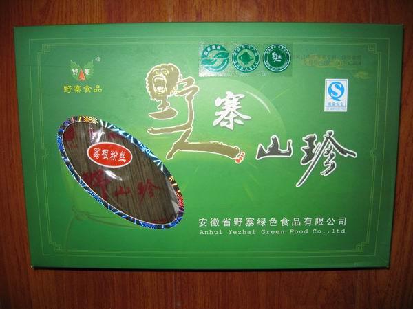 葛根粉丝年货商务礼品有机绿色食品安徽土特产节日礼品