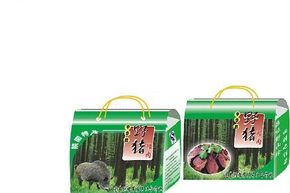 逸美野猪腊肉礼品盒