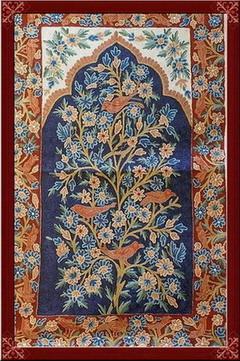 印度克什米尔地毯