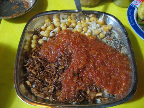 埃及特色美食Kushari