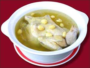 青城山白果炖鸡