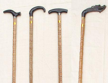 垫江棕竹手杖