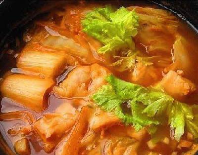 韩国鲻鱼汤