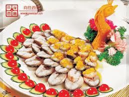 河南名吃孔雀鳗鱼