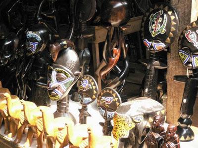 坦桑尼亚乌木雕