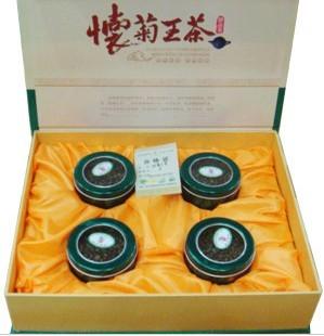 怀菊王茶绿盒