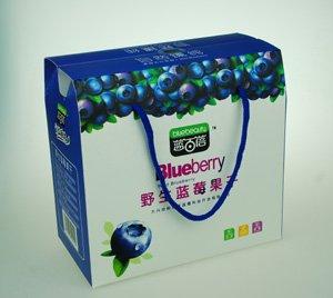 供应野生蓝莓礼盒 大兴安岭特产 蓝莓干