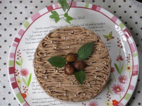 栗子芝士蛋糕