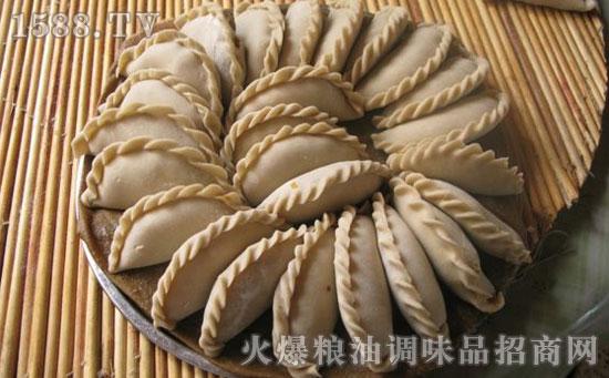 莜面瓜丝蒸饺