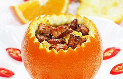 美味香橙羊肉