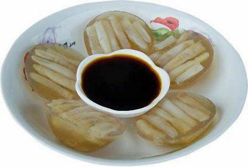 安海土笋冻