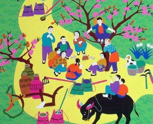 金山农民画