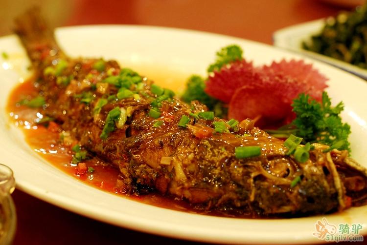 咸菜大黄鱼