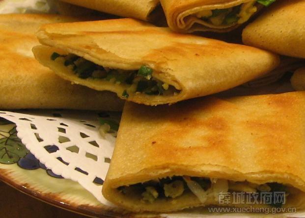 鲁南菜煎饼