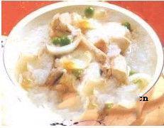 百合田鸡粥