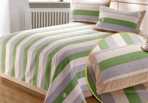 老粗布床单三件套