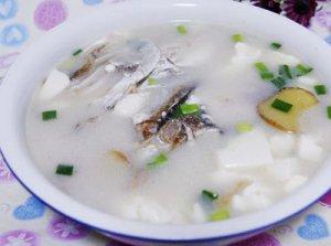 咸鱼头豆腐汤