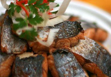 蒸炒香酸鱼