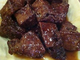 东兰香煎猪肝肉