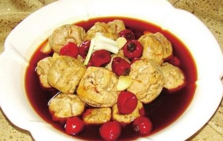 海棠灰豆腐