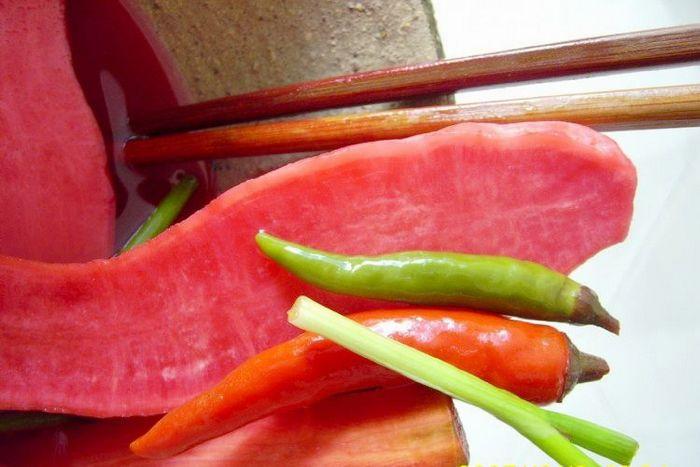 肖溪胭脂红萝卜