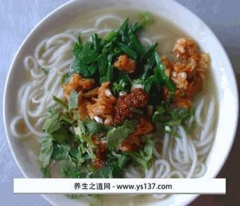 华宁豆汤米线