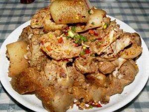 麻栗坡坨肉