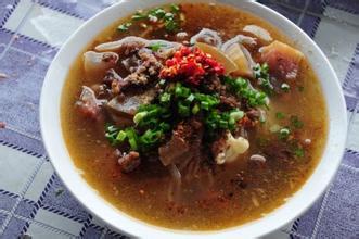 牛肉汤泡饵