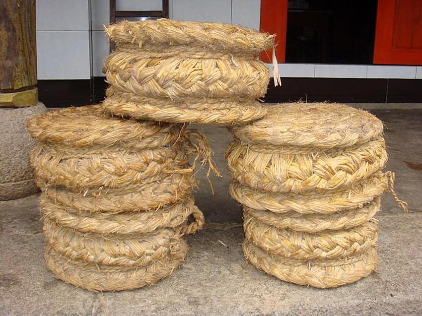 草墩凳子的编织步骤图