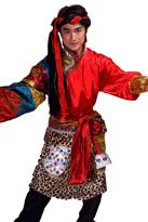 藏族男子服饰