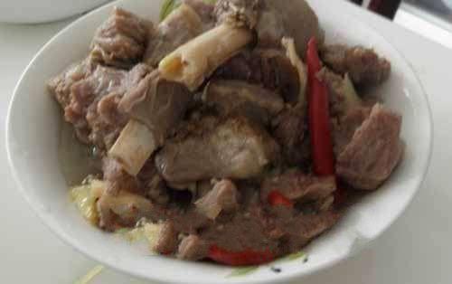 风味西川炖羊肉