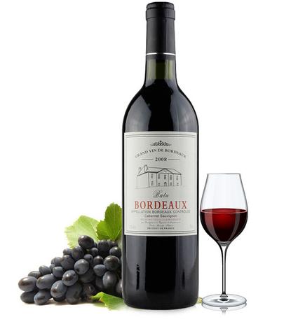 波尔多葡萄酒 红酒